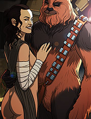Star Wars parody | A complete guide to wookiee sex