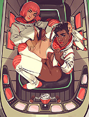 Auto Pilot | Astronaut porn